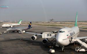 پروازهای فرودگاه بینالمللی کیش درشرایط قرمز کرونایی 29 درصد کاهش یافت