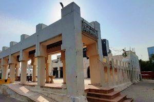 مرحله دوم مرمت مسجد حضرت امیر در کیش