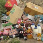 کشف بیش از ۹۰۰ کیلوگرم مواد غذایی فاسد و پلمپ ۶ واحد صنفی