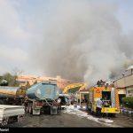 وقوع ۹۵ حادثه آتش سوزی در کیش