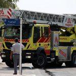 ۸۷ عملیات اطفاء حریق و امداد و نجات در جزیره کیش