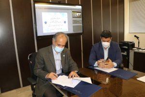 امضاء تفاهمنامه همکاری مابین موسسه ورزش و تفریحات سالم کیش و پردیس بین المللی کیش دانشگاه تهران
