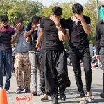 دستگیری ۱۰ سارق در منطقه صدف کیش