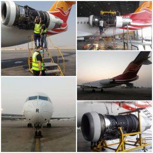 بازگشت سومین هواپیمای زمینگیر کیش ایر پس از پایان چک تعمیراتی به ناوگان عملیاتی شرکت