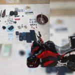 دستگیری عامل توزیع بستههای مرگ در پوشش پیک موتوری در کیش